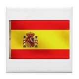 Spanish Flag Tile Coaster
