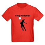 Volleyball Kids Dark T-Shirt
