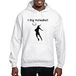 Volleyball Hooded Sweatshirt