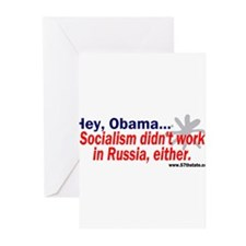 Socialism didn't work in Russ Greeting Cards (Pk o