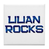 lilian rocks Tile Coaster