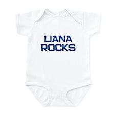 liana rocks Infant Bodysuit