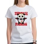 Zombie Panda Women's T-Shirt