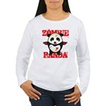 Zombie Panda Women's Long Sleeve T-Shirt