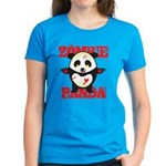 Zombie Panda Women's Dark T-Shirt