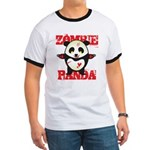 Zombie Panda Ringer T