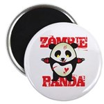 Zombie Panda Magnet