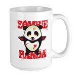 Zombie Panda Large Mug