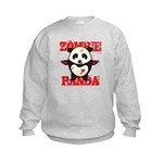 Zombie Panda Kids Sweatshirt