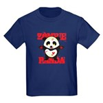 Zombie Panda Kids Dark T-Shirt
