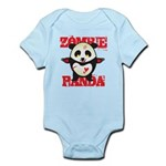 Zombie Panda Infant Bodysuit