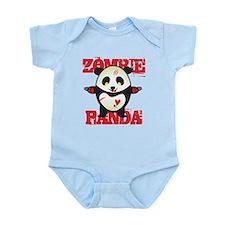 Zombie Panda Infant Bodysuit