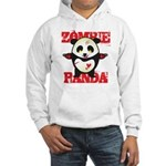 Zombie Panda Hooded Sweatshirt