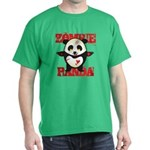 Zombie Panda Dark T-Shirt