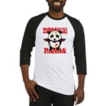 Zombie Panda Baseball Jersey