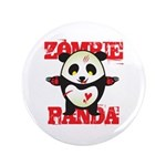 Zombie Panda 3.5&quot; Button