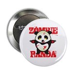 Zombie Panda 2.25&quot; Button