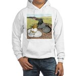 Trumpeter Pigeon Pair Hooded Sweatshirt