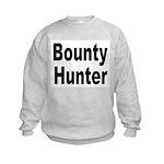 Bounty Hunter (Front) Kids Sweatshirt