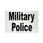 Military Police Rectangle Magnet (10 pack)