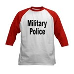 Military Police (Front) Kids Baseball Jersey