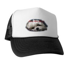 Lhasa Apso Rescue Trucker Hat