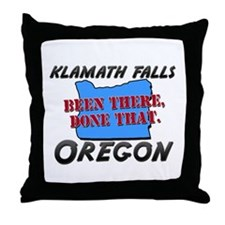 klamath falls oregon - been there, done that Throw