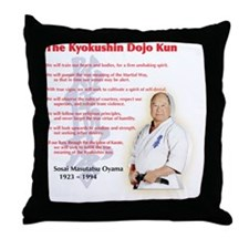 Kyokushin Throw Pillow