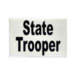 State Trooper Rectangle Magnet (10 pack)