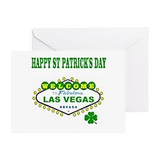 Las Vegas St. Patrick's Day Greeting Card