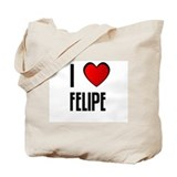 I LOVE FELIPE Tote Bag