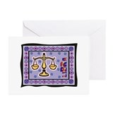 Libra3 Greeting Cards (Pk of 10)