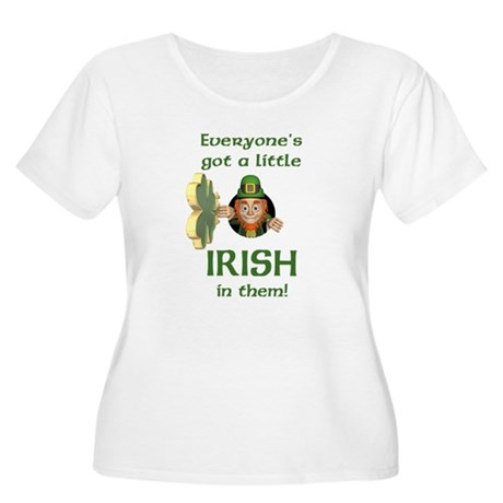 Everyone's Got a Little Irish Women's Plus Size Sc