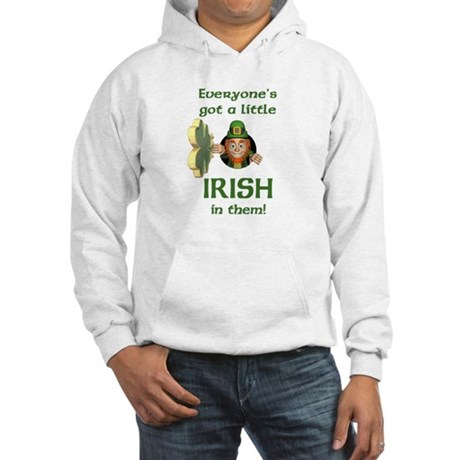 Everyone's Got a Little Irish Hooded Sweatshirt