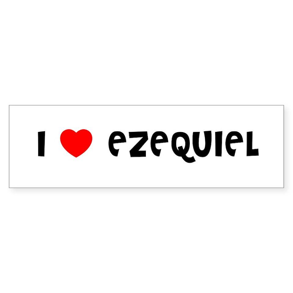 Love (Heart) Ezequiel Gifts & Merchandise  I Love (Heart) Ezequiel