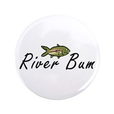 "River Bum Trout 3.5"" Button (100 pack)"