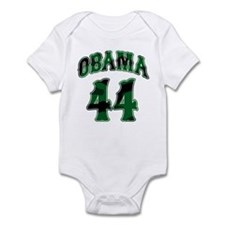 Obama Camo 44th President Infant Bodysuit