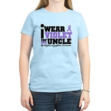 I Wear Violet For My Uncle T-Shirt