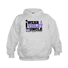 I Wear Violet For My Uncle Hoodie