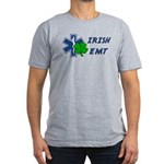 Irish EMT Men's Fitted T-Shirt (dark)