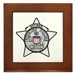 Retired Chicago PD Framed Tile