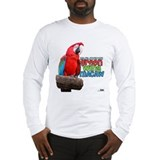 Green Wing Macaw Long Sleeve T-Shirt