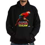 Scarlet Macaw Hoodie