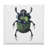 Scarab Beetle Tile Coaster