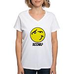 Accha? Women's V-Neck T-Shirt