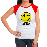 Accha? Women's Cap Sleeve T-Shirt
