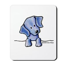 Weimaraner Pocket Pup Mousepad