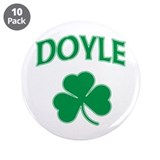 "Doyle Irish 3.5"" Button (10 pack)"