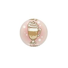 Like you a Latte Mini Button (100 pack)