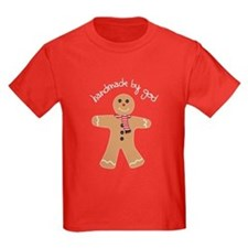 Handmade by God Gingerbread Tee